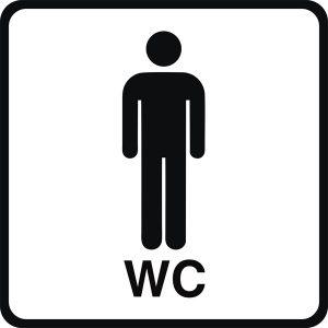 WC Piktogramm Herren